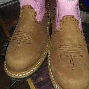 Women s John Deere work boots wore 1 time